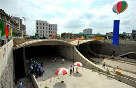 THU THIEM TUNNEL-SAIGON RIVER