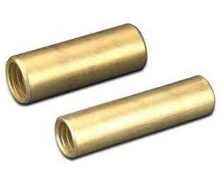 Khớp cọc nối đất bằng đồng thau CVL, brass coupler for earthing rod