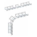 Co ngoài máng lưới CVL - Outside bend for wire mesh tray, cable basket tray
