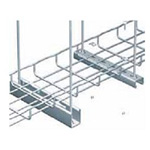 Máng lưới,wire mesh tray,cable basket tray được làm từ thép sơn tĩnh điện. Máng lưới wire mesh tray CVL được sơn màu theo yêu cầu của khách hàng.