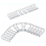 Co tròn 90° máng lưới CVL - Radian bend for wire mesh tray, cable basket tray