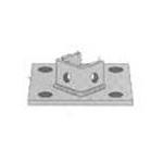 Đệm đế CVL, Phụ kiện thanh chống đa năng - Post Base Plates for UniStrut, C Channel
