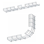 Co trong máng lưới CVL - Inside bend for wire mesh tray, cable basket tray
