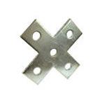 Đệm hình CVL, Phụ kiện thanh chống đa năng - Flat Plate Fittings for UniStrut, C Channel